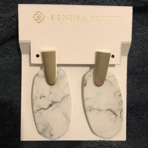 Kendra Scott Aragon Drop Earrings NWT